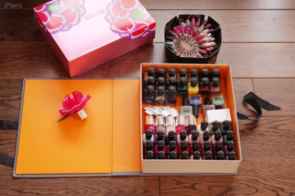 Коробка для хранения лака для ногтей
