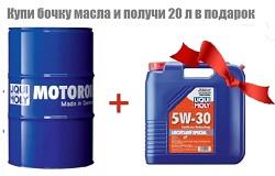 Купи моторное масло и получи канистру бесплатно