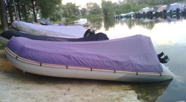 Стояночный тент для лодки пвх своими руками