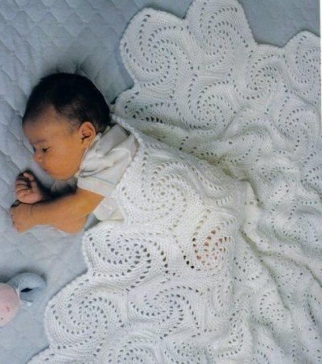 Плед своими руками для малыша