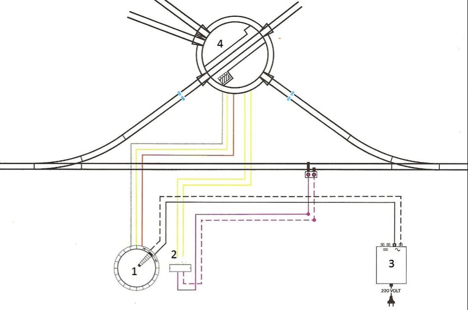 Схема подключения представлена