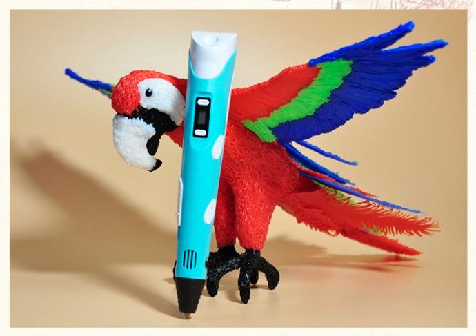 Как сделать фигурки 3д ручкой
