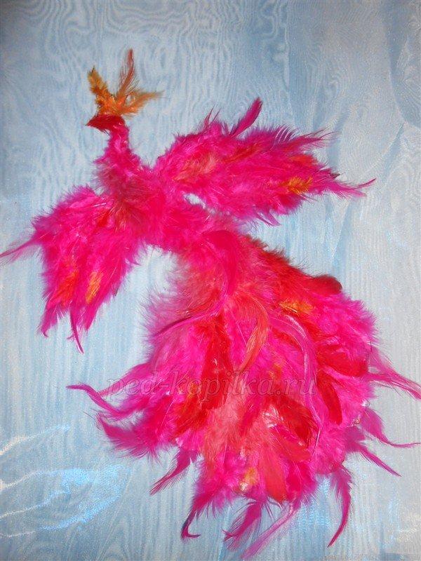 Поделки для детей из перьев