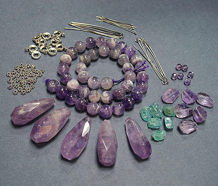 Изготовление украшений своими руками из натуральных камней