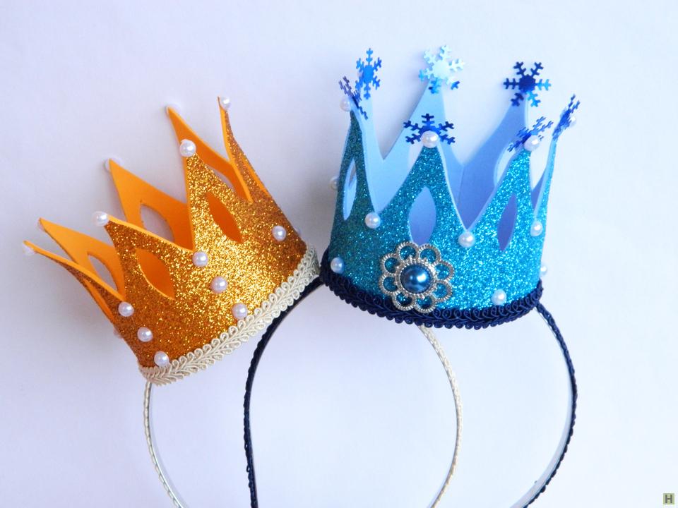Ободок корона своими руками из фоамирана 3