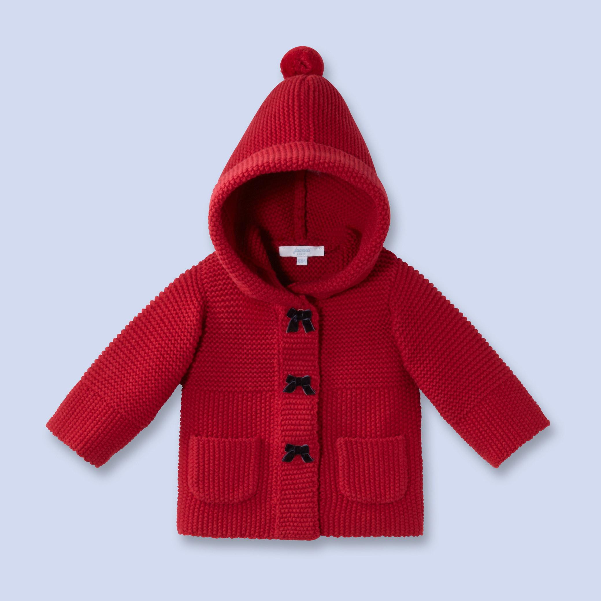 Как связать капюшон для детского пальто
