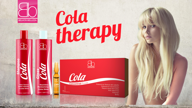 Кола терапия для волос