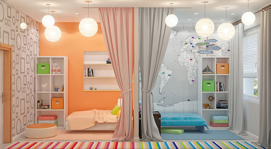 Дизайн кровати детей