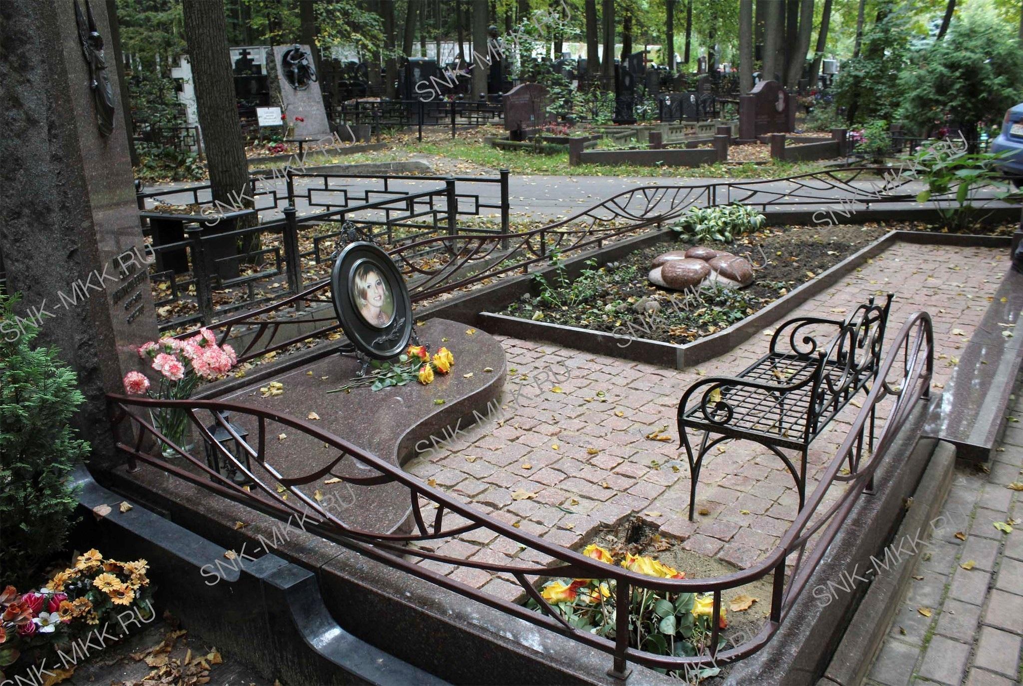 Чем оформить могилу на кладбище своими руками фото 86