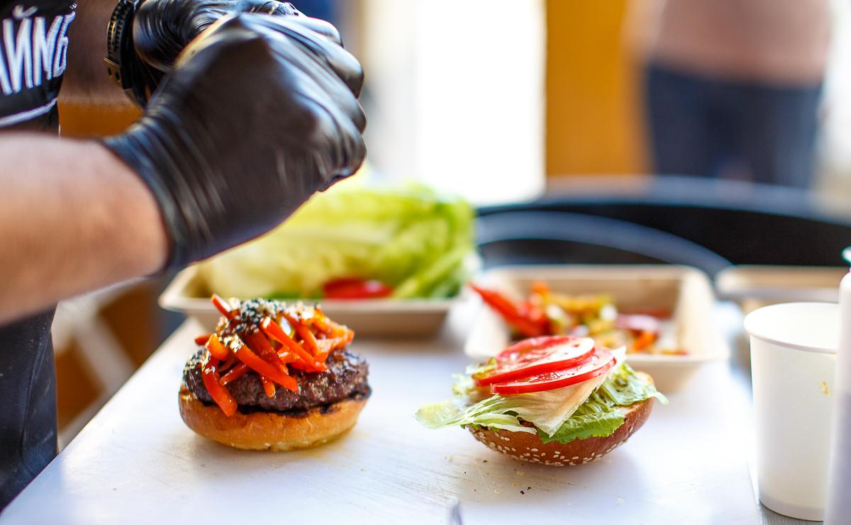 Как сделать бургер в домашних условиях видео