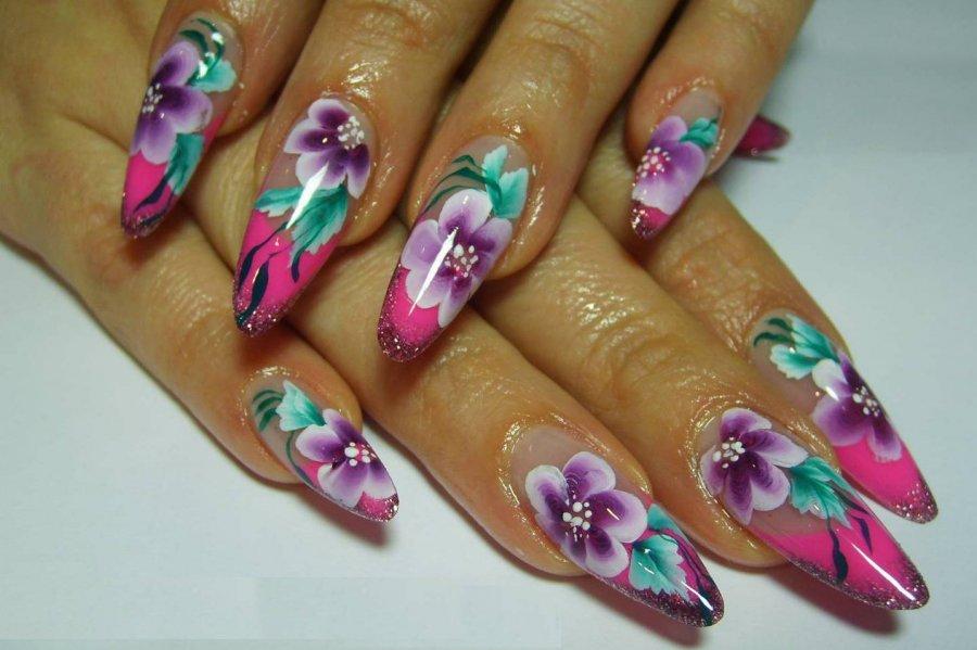 Уроки дизайна ногтей китайская роспись