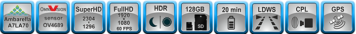 Характеристики TDR-718GP