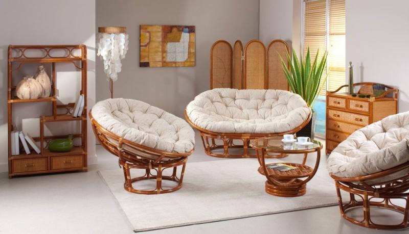 Мебель с ротанга