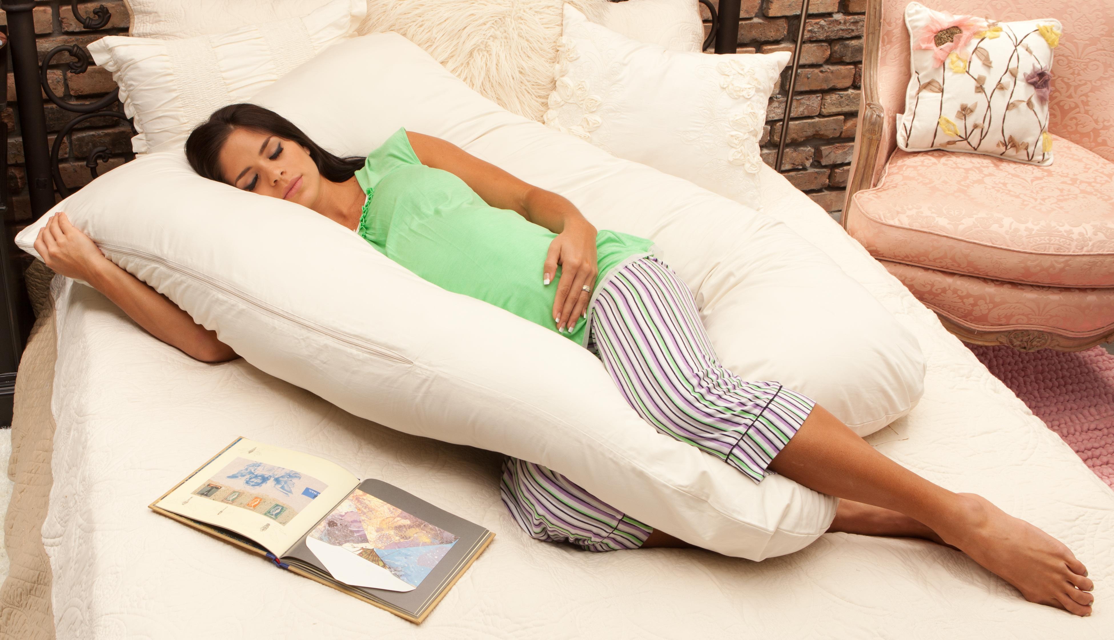 Как правильно сшить подушку для беременных