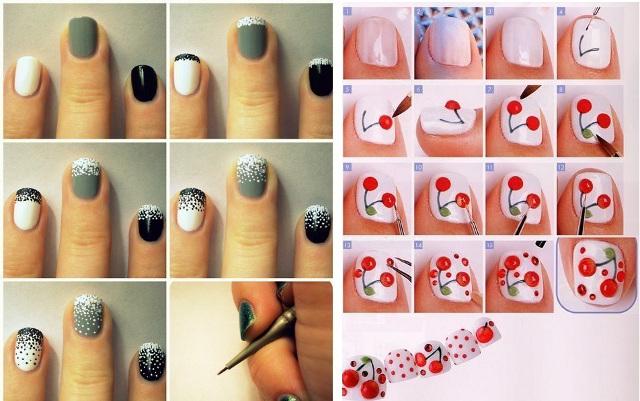 Как накрасить ногти своими руками в домашних условиях