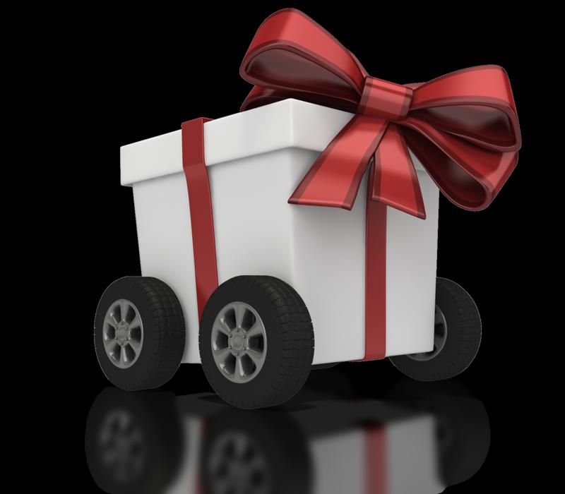 Украшение авто в подарок - бант на авто - Mayorcars 72