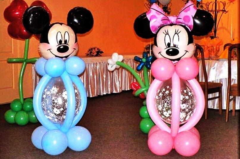 Фигуры из шаров для детского праздника своими руками