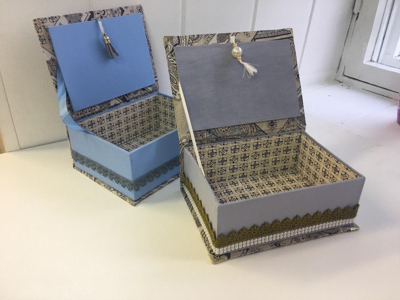 Как сделать коробку для подарка из обувной коробки
