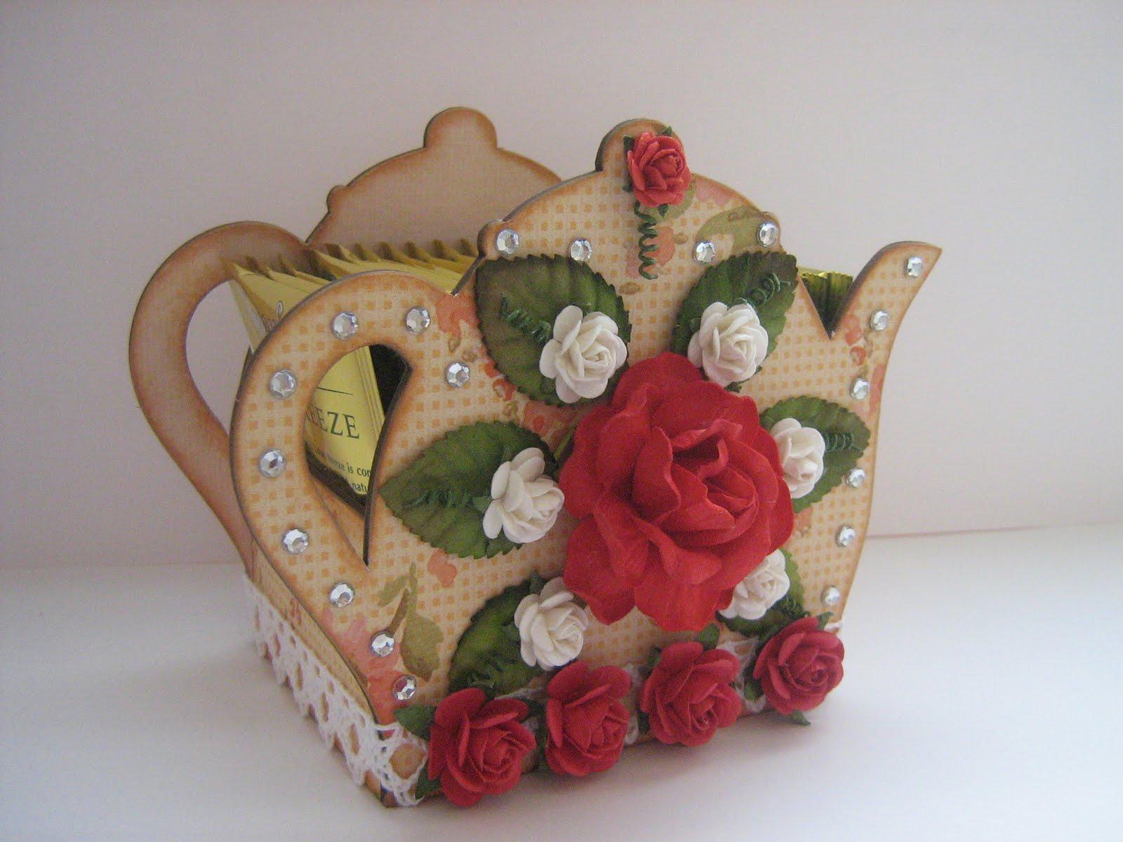 Розы из чайных пакетиков. Фото 45