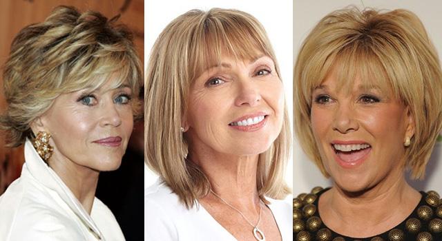 Фото причесок на средние волосы для женщин среднего возраста
