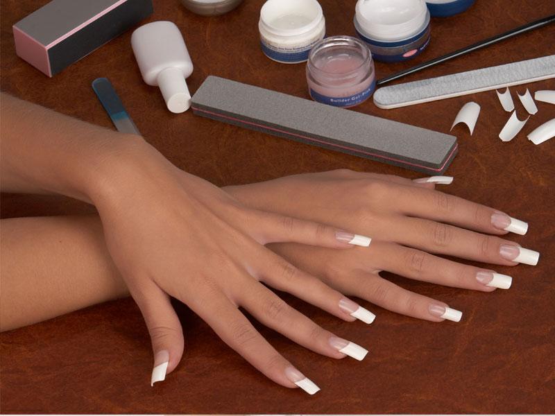 Наращивание ногтей своими руками