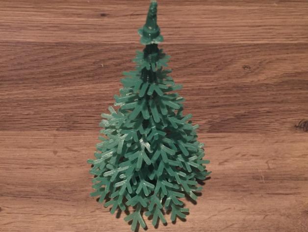 новогодняя ёлочка на 3D принтере