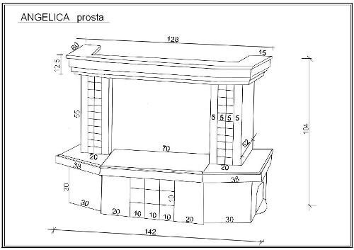 Схема сборки облицовки