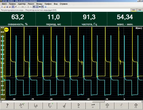 Щуп для осциллографа 100 mhz с делителем 1 : 10 (1 шт