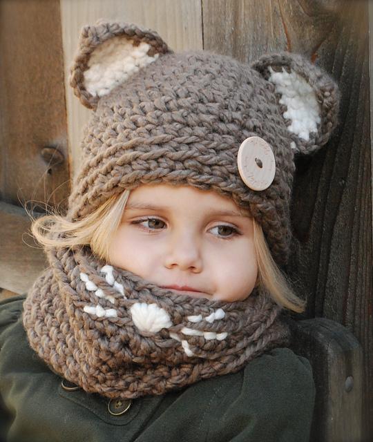 Вязание детская шапка с косами