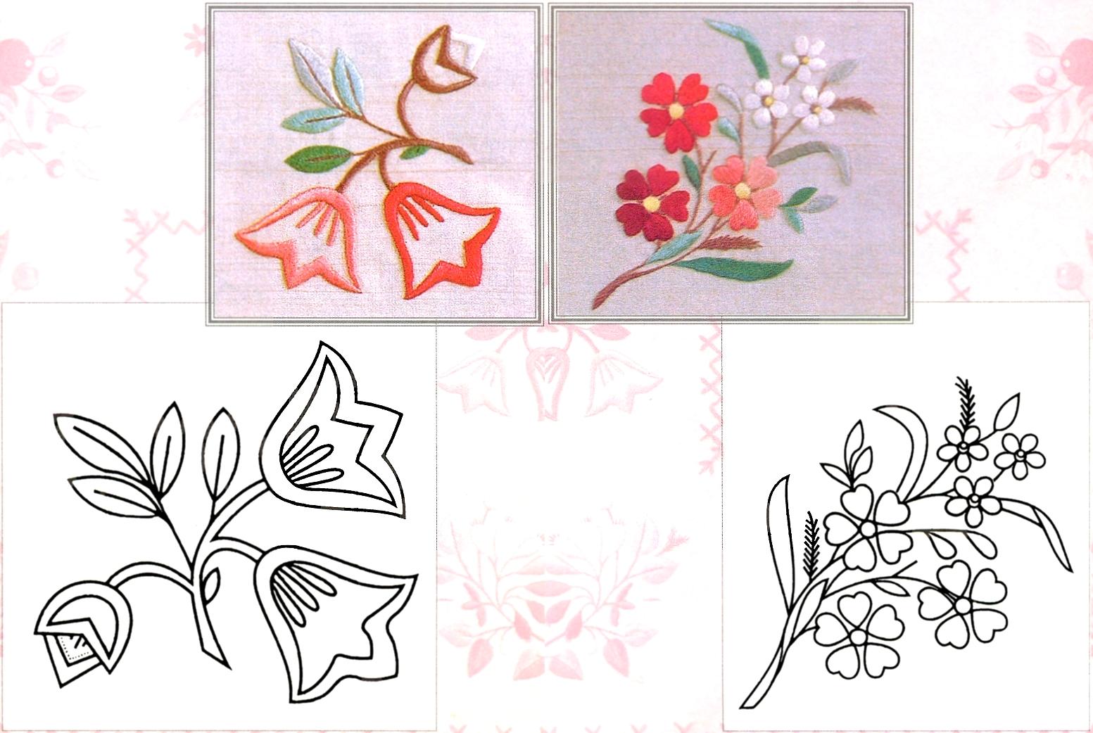 Шаблоны рисунки вышивок