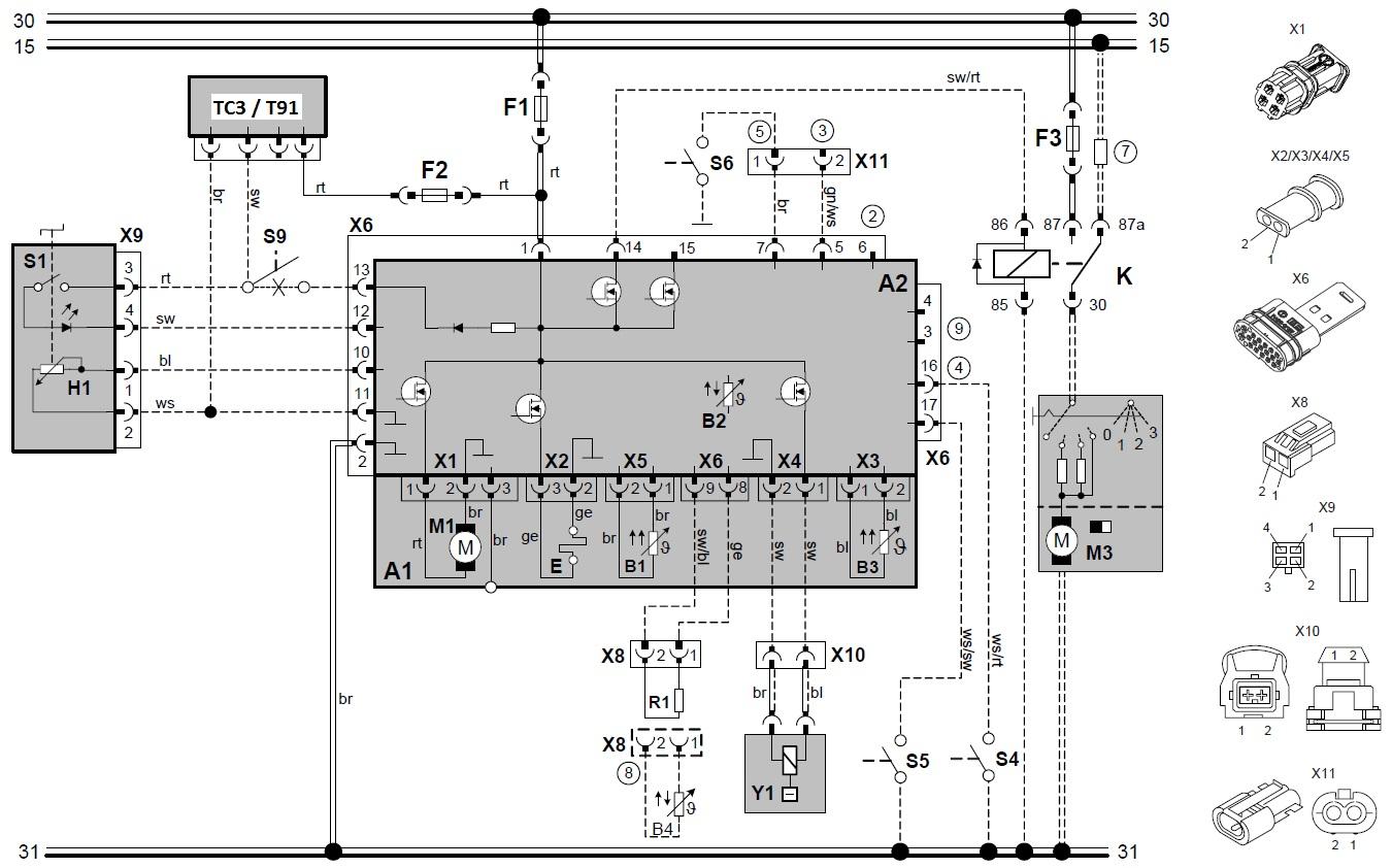 схема вебасто 2000 с