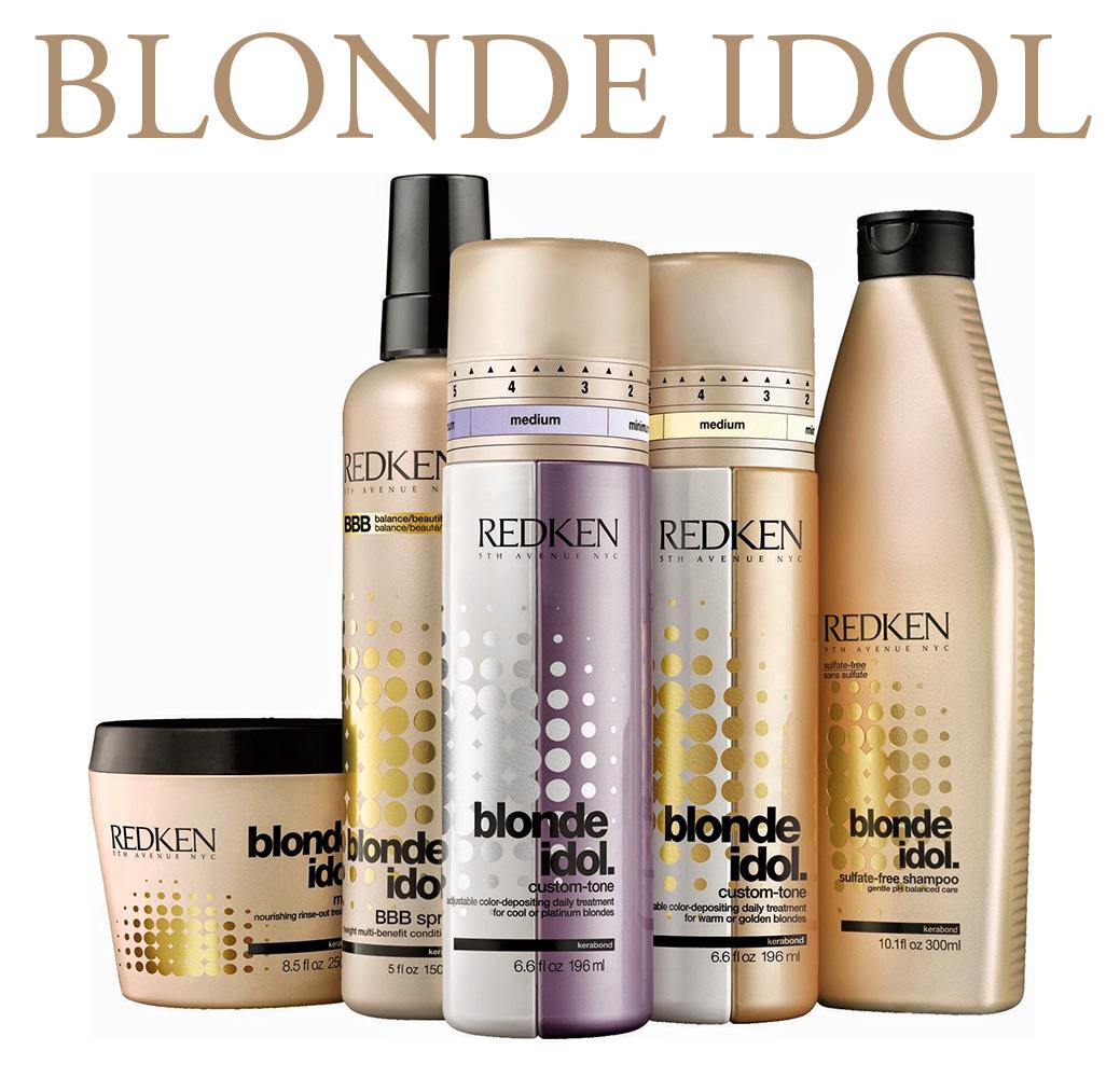 Серия по уходу за волосами для блондинок