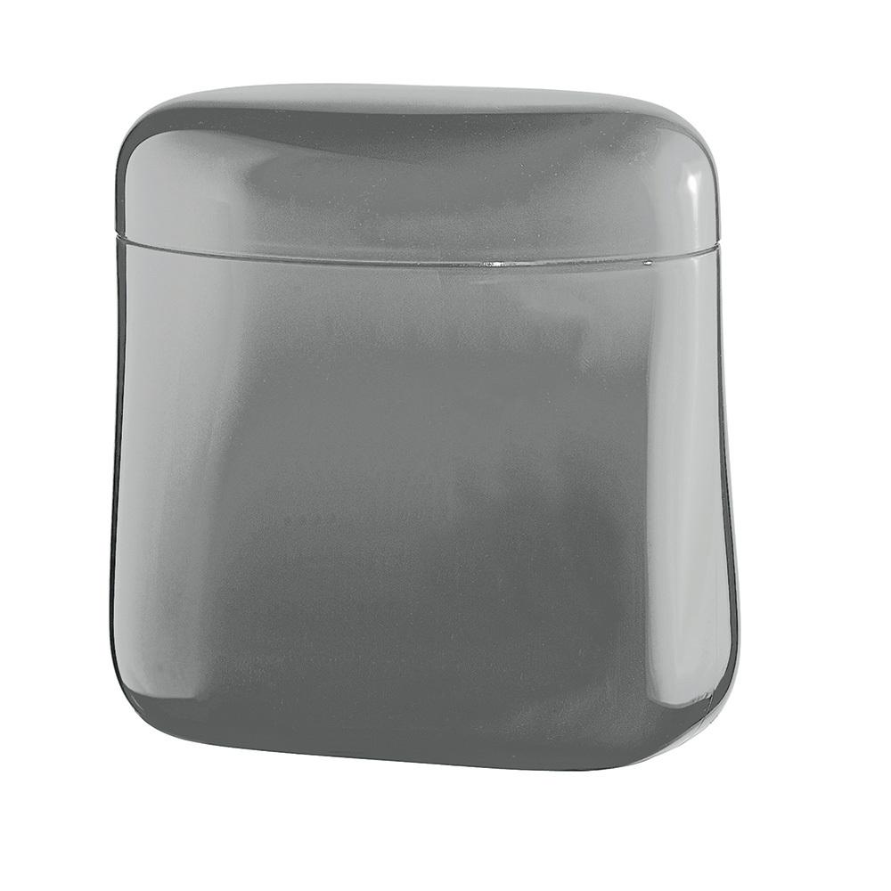 Банка для кофе Guzzini Gocce 250 гр серая 27300092Банки для хранения<br>Банка для кофе Guzzini Gocce 250 гр серая 27300092<br><br>Банка Gocce создана специально для длительного хранения кофе. Она изготовлена из органического стекла со светонепроницаемым покрытием для защиты от преждевременного разрушения. Крышка банки плотно закрывается, что позволит надолго сохранить вкус и аромат кофе. Благодаря своей компактности, ёмкость не займет много места в шкафу и идеально поместится в дверце холодильника. При желании её можно использовать для хранения не только кофе, но и других сыпучих продуктов.  Объем 700 мл. Пригодна для мытья в посудомоечной машине.<br>Официальный продавец<br>