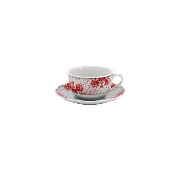 Чайная пара Чайный сервиз Pateo (Casa Alegre)<br>Чайная пара Декор Pateo<br>Материал: Фарфор<br>Бренд: Casa Alegre<br>Производитель: Vista Alegre Atlantis, Португалия<br>