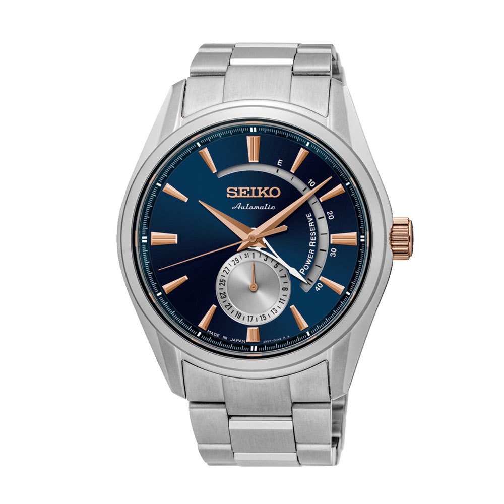 Наручные часы SeikoSeiko Presage<br>Лимитированная серия, выпущенная в честь 60-летия с момента создания первых автоматических часов Seiko<br>