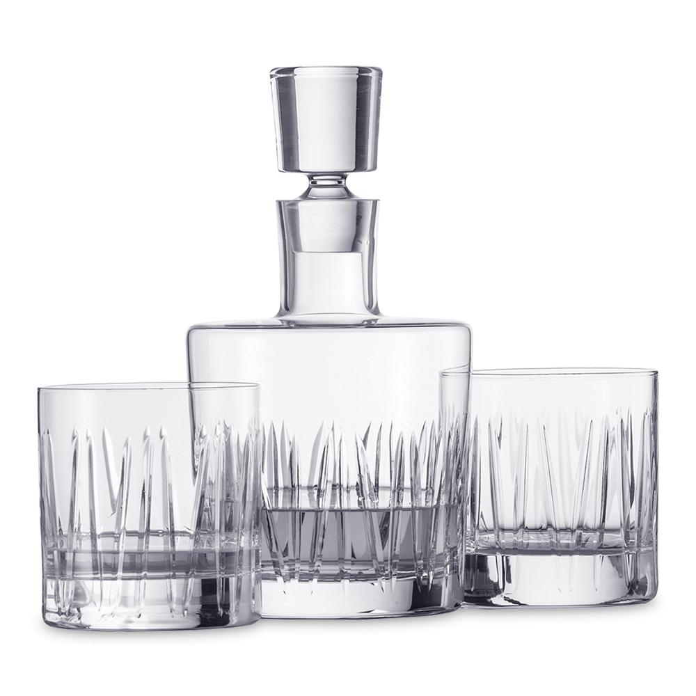 Набор для виски (2 стакана и графин) SCHOTT ZWIESEL Basic Bar Classic арт. 120 145Бокалы и стаканы<br>Набор для виски (2 стакана и графин) SCHOTT ZWIESEL Basic Bar Classic арт. 120 145<br><br>вид упаковки: подарочнаявысота (см): 21.5диаметр (см): 11.8материал: хрустальное стеклоназначение: для вискиобъем (мл): 750предметов в наборе (штук): 3страна: Германия<br>Официальный продавец SCHOTT ZWIESEL<br>