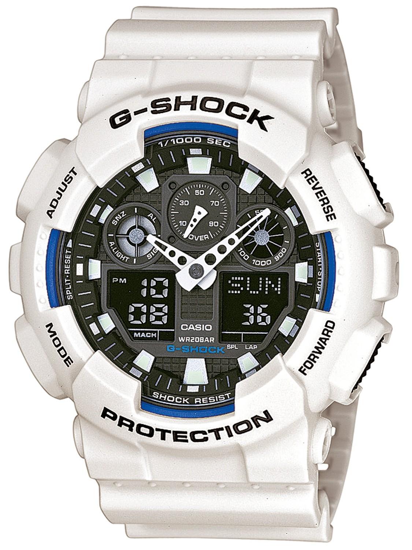 Casio G-SHOCK GA-100B-7A / GA-100B-7AER - оригинальные наручные часы от eBay RU