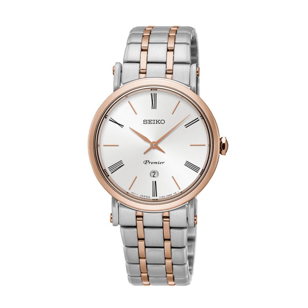 Наручные часы SeikoSeiko Premier<br>Ультратонкие часы от Seiko<br>
