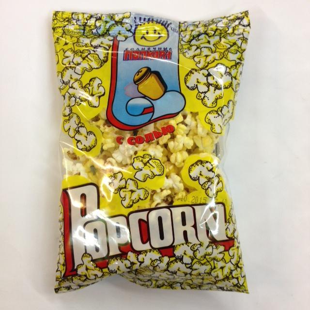 Соленый попкорн домашних условиях