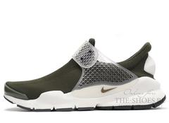 Кроссовки Мужские Nike Sock Dart SP Fragment Design Brown