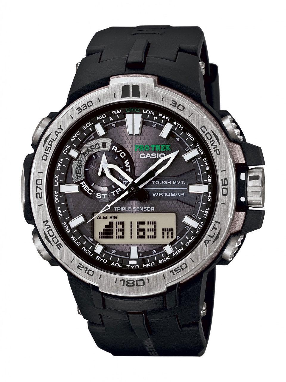 Casio Protrek PRW-6000-1E / PRW-6000-1ER - оригинальные наручные часы от eBay RU