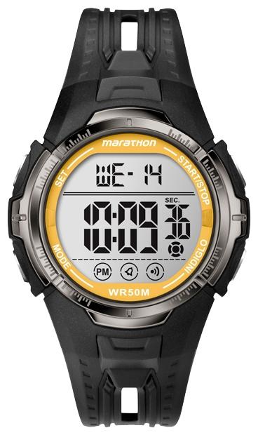 Timex T5K803 - мужские наручные часы из коллекции MarathonTimex<br><br><br>Бренд: Timex<br>Модель: Timex T5K803<br>Артикул: T5K803<br>Вариант артикула: None<br>Коллекция: Marathon<br>Подколлекция: None<br>Страна: США<br>Пол: мужские<br>Тип механизма: кварцевые<br>Механизм: None<br>Количество камней: None<br>Автоподзавод: None<br>Источник энергии: от батарейки<br>Срок службы элемента питания: None<br>Дисплей: цифры<br>Цифры: None<br>Водозащита: WR 50<br>Противоударные: None<br>Материал корпуса: пластик<br>Материал браслета: силикон<br>Материал безеля: None<br>Стекло: минеральное<br>Антибликовое покрытие: None<br>Цвет корпуса: None<br>Цвет браслета: None<br>Цвет циферблата: None<br>Цвет безеля: None<br>Размеры: 44x14 мм<br>Диаметр: None<br>Диаметр корпуса: None<br>Толщина: None<br>Ширина ремешка: None<br>Вес: 48 г<br>Спорт-функции: секундомер, таймер обратного отсчета<br>Подсветка: дисплея<br>Вставка: None<br>Отображение даты: число, день недели<br>Хронограф: есть<br>Таймер: None<br>Термометр: None<br>Хронометр: None<br>GPS: None<br>Радиосинхронизация: None<br>Барометр: None<br>Скелетон: None<br>Дополнительная информация: None<br>Дополнительные функции: второй часовой пояс, будильник