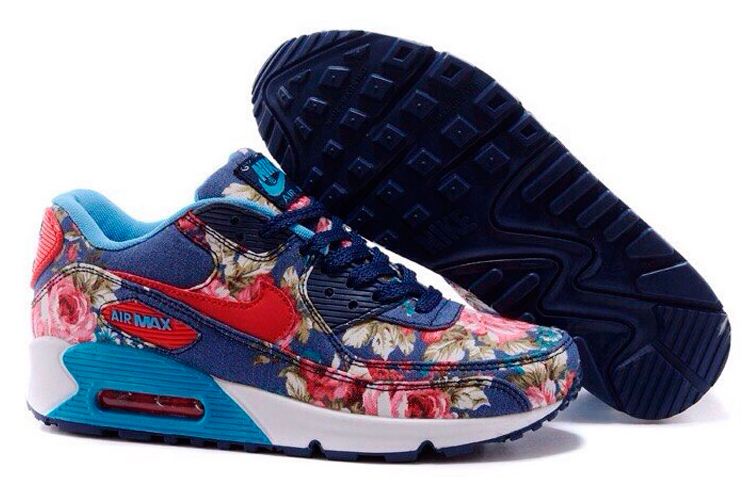Fotos - Nike Flowers Flower Print Airmax Roshe Run Sneakers Nike Nike