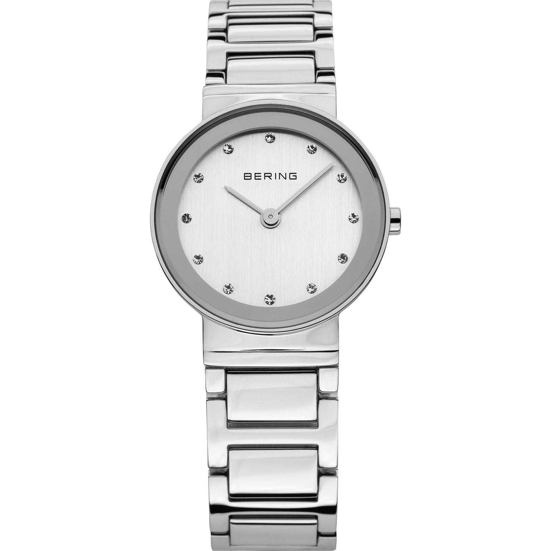 Bering 10126-700 - женские наручные часы из коллекции ClassicBering<br>женские,  сапфировое стекло, корпус из нерж. стали, браслет из нерж. стали, циферблат белого цвета с 12-ю кристаллами swarovski<br><br>Бренд: Bering<br>Модель: Bering 10126-700<br>Артикул: 10126-700<br>Вариант артикула: ber-10126-700<br>Коллекция: Classic<br>Подколлекция: None<br>Страна: Дания<br>Пол: женские<br>Тип механизма: кварцевые<br>Механизм: None<br>Количество камней: None<br>Автоподзавод: None<br>Источник энергии: от батарейки<br>Срок службы элемента питания: None<br>Дисплей: стрелки<br>Цифры: отсутствуют<br>Водозащита: WR 50<br>Противоударные: None<br>Материал корпуса: нерж. сталь<br>Материал браслета: нерж. сталь<br>Материал безеля: None<br>Стекло: сапфировое<br>Антибликовое покрытие: None<br>Цвет корпуса: None<br>Цвет браслета: None<br>Цвет циферблата: None<br>Цвет безеля: None<br>Размеры: 26 мм<br>Диаметр: None<br>Диаметр корпуса: None<br>Толщина: None<br>Ширина ремешка: None<br>Вес: None<br>Спорт-функции: None<br>Подсветка: None<br>Вставка: кристаллы Swarovski<br>Отображение даты: None<br>Хронограф: None<br>Таймер: None<br>Термометр: None<br>Хронометр: None<br>GPS: None<br>Радиосинхронизация: None<br>Барометр: None<br>Скелетон: None<br>Дополнительная информация: None<br>Дополнительные функции: None