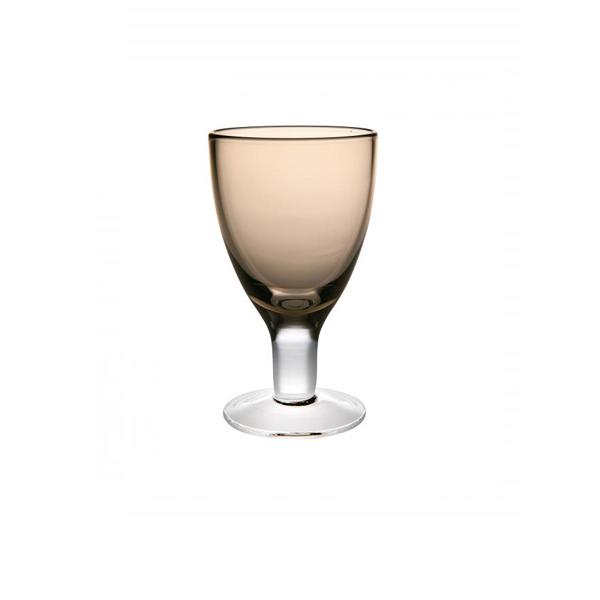 Бокал для вина дымчатый Стекло Casa Alegre, Португалия<br>Бокал для вина дымчатый Серия Cheerful/Веселый<br>Высота 142 мм, емкость 220 мл<br>Бренд: Casa Alegre<br>Производитель: Vista Alegre Atlantis, Португалия<br>