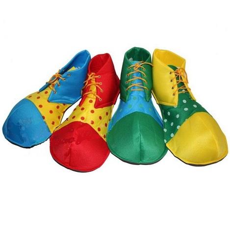Как сделать ботинки для клоуна своими руками