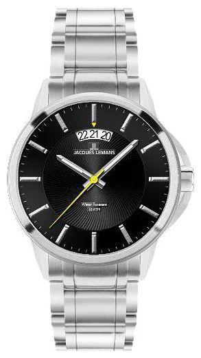Jacques Lemans 1-1540D - мужские наручные часы из коллекции SydneyJacques Lemans<br><br><br>Бренд: Jacques Lemans<br>Модель: Jacques Lemans 1-1540D<br>Артикул: 1-1540D<br>Вариант артикула: None<br>Коллекция: Sydney<br>Подколлекция: None<br>Страна: Австрия<br>Пол: мужские<br>Тип механизма: кварцевые<br>Механизм: None<br>Количество камней: None<br>Автоподзавод: None<br>Источник энергии: от батарейки<br>Срок службы элемента питания: None<br>Дисплей: стрелки<br>Цифры: отсутствуют<br>Водозащита: WR 10<br>Противоударные: None<br>Материал корпуса: нерж. сталь<br>Материал браслета: не указан<br>Материал безеля: None<br>Стекло: Crystex<br>Антибликовое покрытие: None<br>Цвет корпуса: None<br>Цвет браслета: None<br>Цвет циферблата: None<br>Цвет безеля: None<br>Размеры: 42x42 мм<br>Диаметр: None<br>Диаметр корпуса: None<br>Толщина: None<br>Ширина ремешка: None<br>Вес: None<br>Спорт-функции: None<br>Подсветка: стрелок<br>Вставка: None<br>Отображение даты: число<br>Хронограф: None<br>Таймер: None<br>Термометр: None<br>Хронометр: None<br>GPS: None<br>Радиосинхронизация: None<br>Барометр: None<br>Скелетон: None<br>Дополнительная информация: None<br>Дополнительные функции: None