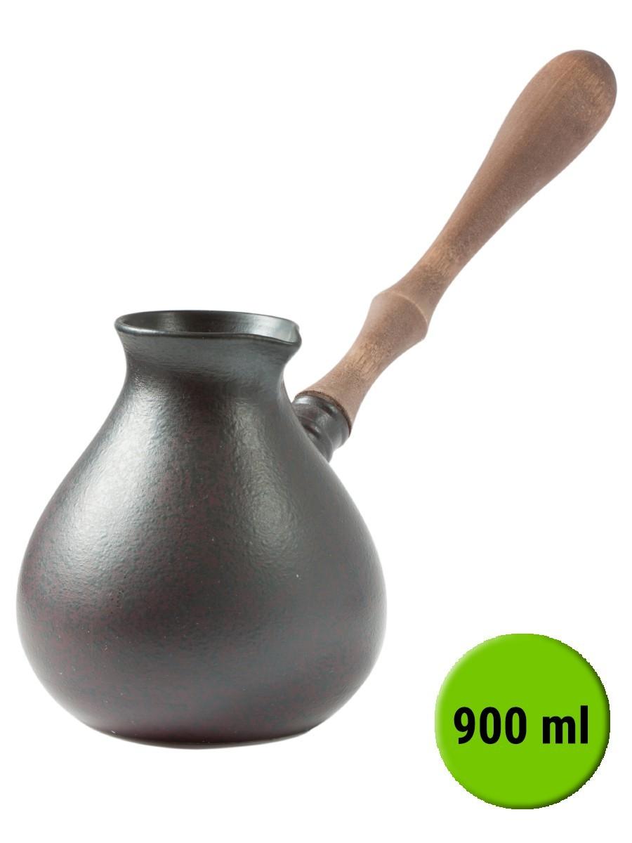 Турка SoulWare Амфора фарфоровая жаропрочная 900мл арт.005Посуда для приготовления<br><br>