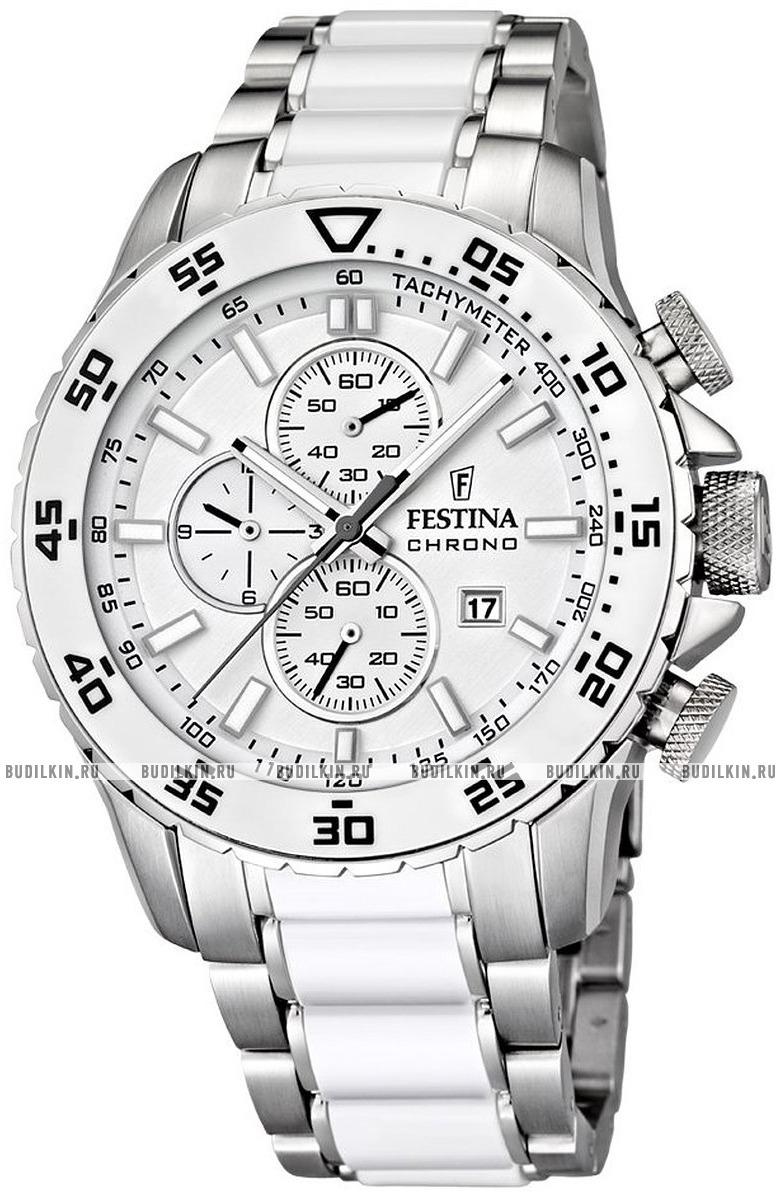Festina F16628.1 - мужские наручные часы из коллекции CeramicFestina<br><br><br>Бренд: Festina<br>Модель: Festina F16628/1<br>Артикул: F16628.1<br>Вариант артикула: None<br>Коллекция: Ceramic<br>Подколлекция: None<br>Страна: Испания<br>Пол: мужские<br>Тип механизма: кварцевые<br>Механизм: M0S1A<br>Количество камней: None<br>Автоподзавод: None<br>Источник энергии: от батарейки<br>Срок службы элемента питания: None<br>Дисплей: стрелки<br>Цифры: отсутствуют<br>Водозащита: WR 100<br>Противоударные: None<br>Материал корпуса: нерж. сталь + керамика<br>Материал браслета: нерж. сталь + керамика<br>Материал безеля: None<br>Стекло: минеральное<br>Антибликовое покрытие: None<br>Цвет корпуса: None<br>Цвет браслета: None<br>Цвет циферблата: None<br>Цвет безеля: None<br>Размеры: 47 мм<br>Диаметр: None<br>Диаметр корпуса: None<br>Толщина: None<br>Ширина ремешка: None<br>Вес: None<br>Спорт-функции: секундомер<br>Подсветка: стрелок<br>Вставка: None<br>Отображение даты: число<br>Хронограф: есть<br>Таймер: None<br>Термометр: None<br>Хронометр: None<br>GPS: None<br>Радиосинхронизация: None<br>Барометр: None<br>Скелетон: None<br>Дополнительная информация: None<br>Дополнительные функции: None