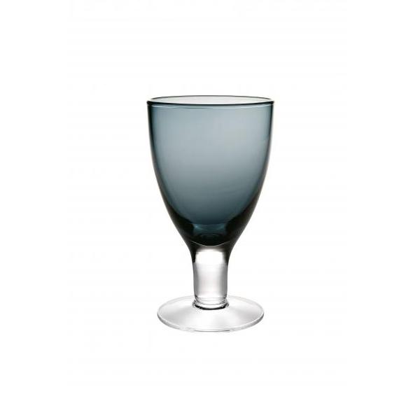 Бокал для воды синий Серия бокалов Веселый (Casa Alegre)<br>Бокал для воды синий Серия Cheerful/Веселый<br>Высота 158 мм, емкость 280 мл<br>Бренд: Casa Alegre<br>Производитель: Vista Alegre Atlantis, Португалия<br>
